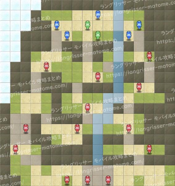 帝国侵攻戦のマップ