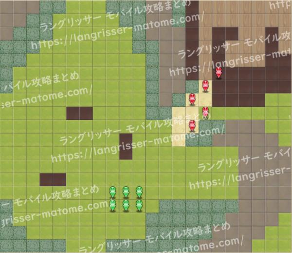 マップ13 パターン6 4湧8ターン目