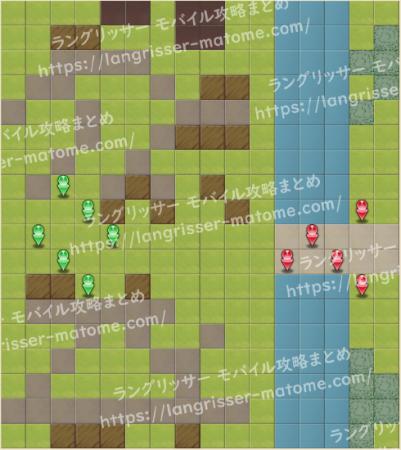 マップ15 パターン4 1湧1ターン目