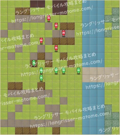 マップ15 パターン4 2湧3ターン目