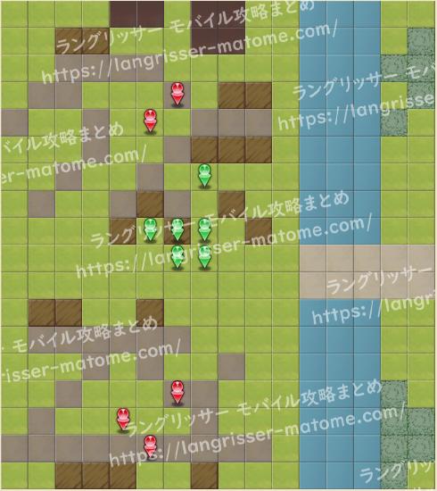 マップ15 パターン4 3湧6ターン目