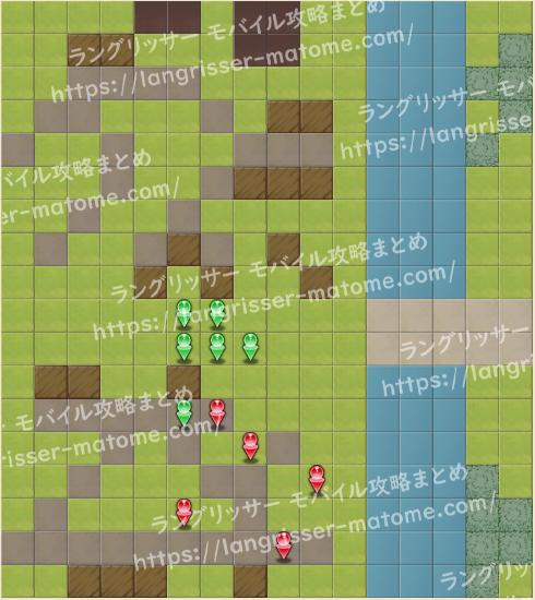 マップ15 パターン4 4湧8ターン目