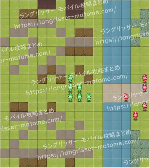 マップ15 パターン4 5湧11ターン目