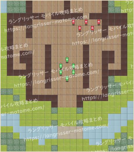 マップ19 パターン3 1湧1ターン目