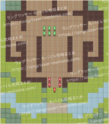 マップ19 パターン3 3湧6ターン目
