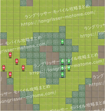 マップ23 パターン3 3湧6ターン目