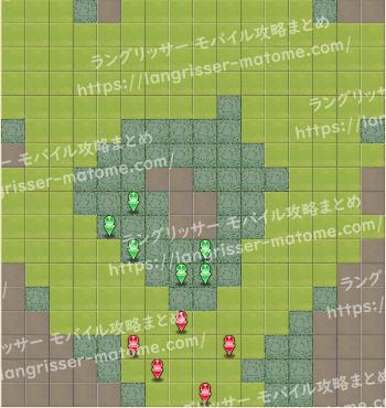 マップ23 パターン3 4湧8ターン目
