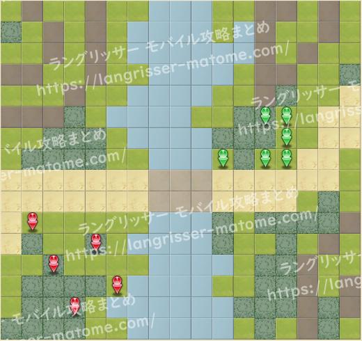マップ3 パターン4 2湧3ターン目