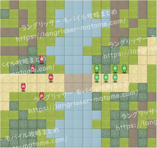 マップ3 パターン4 4湧8ターン目